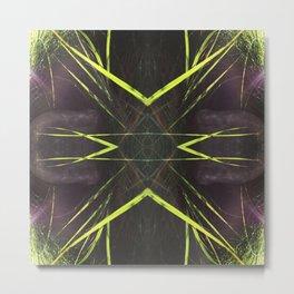 518 - Abstract grass design Metal Print