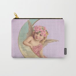 Victorian Moon Angel Carry-All Pouch