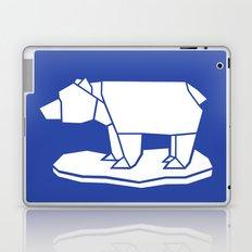 Origami Polar Bear Laptop & iPad Skin
