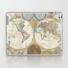 General Map of the World by by Samuel Dunn and Thomas Kitchin (1794) Laptop & iPad Skin