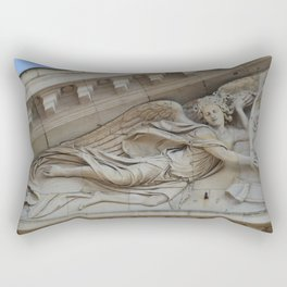 Sensual angel of Val de Grace Church in Paris Rectangular Pillow