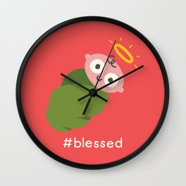 Divine Instavention Wall Clock