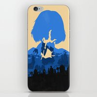 bioshock infinite iPhone & iPod Skins featuring Bioshock Infinite Elizabeth by Bill Pyle