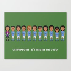 Squadra Canvas Print
