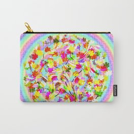 The little tree and the colorful spiral Carry-All Pouch