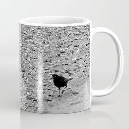 Crow Stroll on Ocean Isle Beach NC Coffee Mug