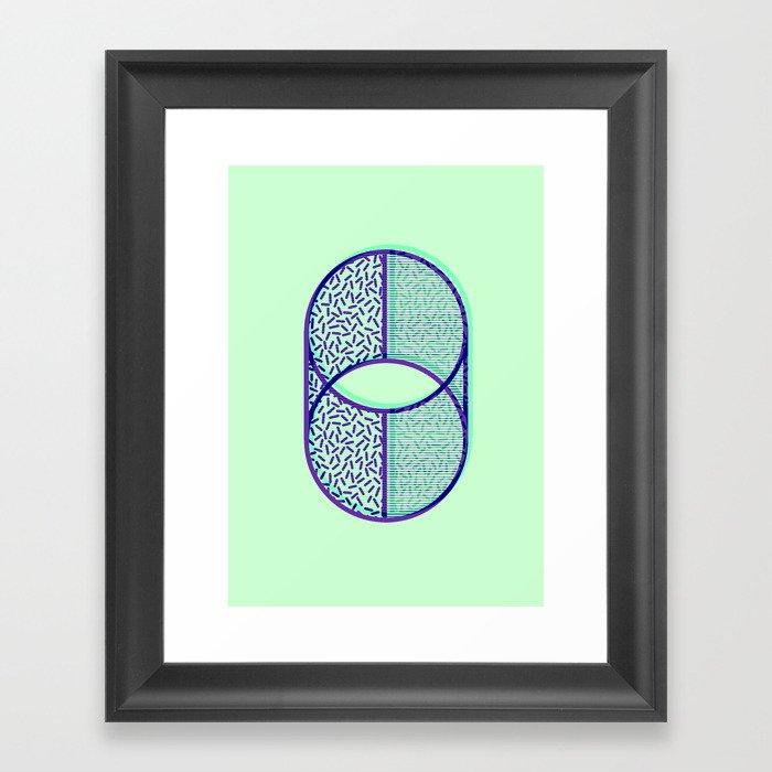 Cylindrical error Framed Art Print