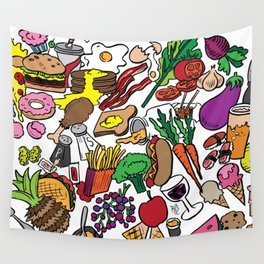 Foodie Wall Tapestry