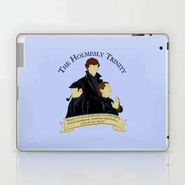 The Holmesly Trinity Laptop & iPad Skin