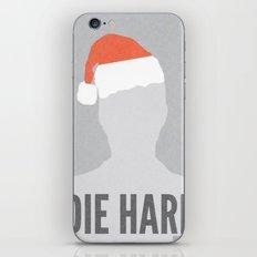 Die Hard Minimalist Poster iPhone & iPod Skin