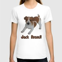 jack russell T-shirts featuring Jack Russell!  by Al's Visions