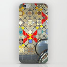Detroit People Mover Art Broadway Fort and Cass iPhone Skin