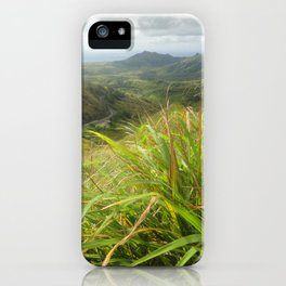 MT. Lam Lam, Guam iPhone Case