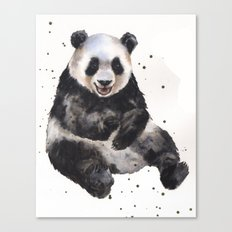 Panda Painting Canvas Print