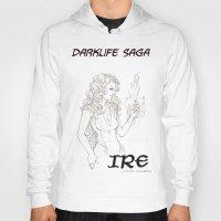 saga Hoodies featuring DarkLife Saga Characters: Irulan  by Ronnie Massey