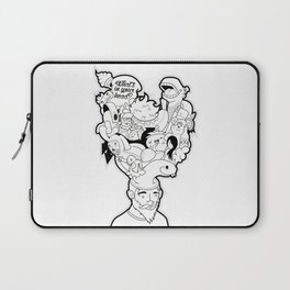 What's in your head Laptop Sleeve