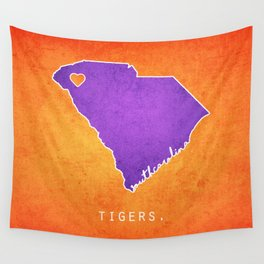 Clemson Tigers Wall Tapestry