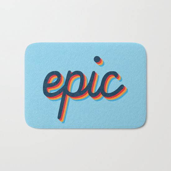 Epic - blue version Bath Mat
