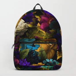 melancholy flowers big seamless pattern 01 Backpack