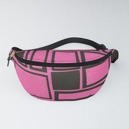 Windows & Frames - Pink Fanny Pack