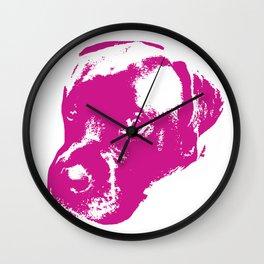 English Mastiff Pop Art Wall Clock