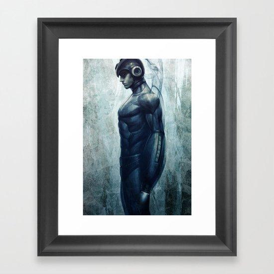 Mega Real Man Framed Art Print