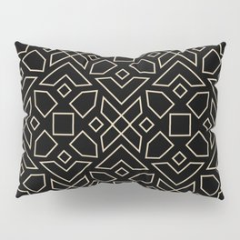 Islamic-African Geometric Pattern Pillow Sham