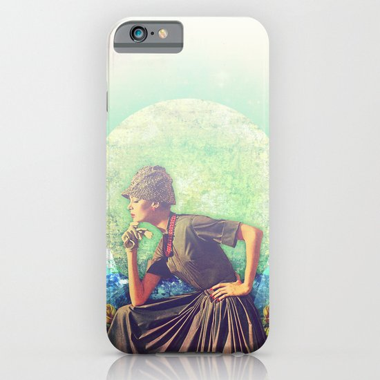 The Thinker iPhone & iPod Case