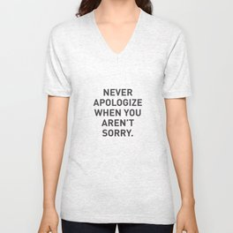 Motivational Unisex V-Neck