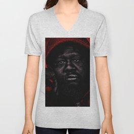 Portrait of a Black Man 'American Skin' by Jeanpaul Ferro Unisex V-Neck