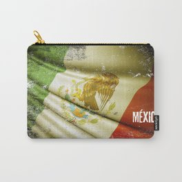 Flag of Mexico Carry-All Pouch