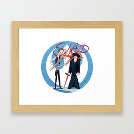 The Slap Framed Art Print
