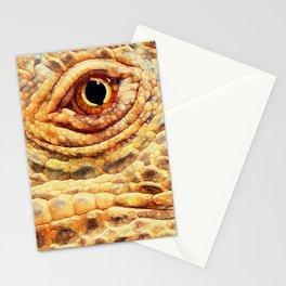 IGUANA ABSTRACT Stationery Cards