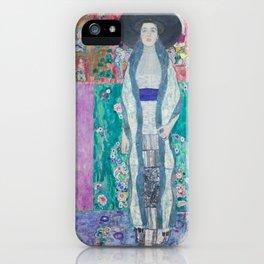 Gustav Klimt Adèle Bloch Bauer II (1912) iPhone Case
