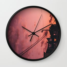 MY TOWN Wall Clock