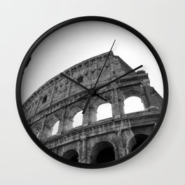 Coliseum Roma. Italy 72 Wall Clock