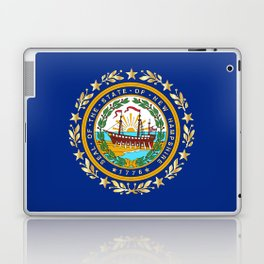 New Hampshire State Flag Laptop & iPad Skin