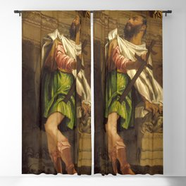 "Veronese (Paolo Caliari) "" Allegory of Navigation with a Cross-Staff: Averroes"" Blackout Curtain"