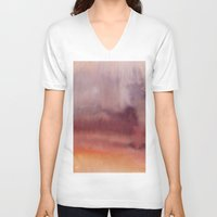 dune V-neck T-shirts featuring Dune by Andrea Gingerich