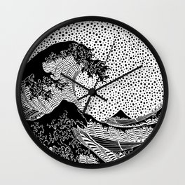 The Great Wave of Kanagawa. Katsushika Hokusai. 1832 Wall Clock