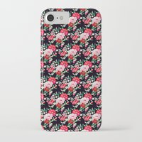 vampire weekend iPhone & iPod Cases featuring Vampire Weekend Floral Pattern by Harold's Visuals