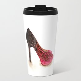 High Heels Painting Travel Mug