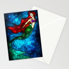 The Mermaids Song Stationery Cards