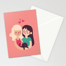 Girls Love Stationery Cards