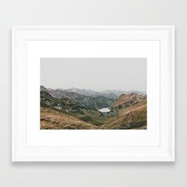 Gentle - landscape photography Framed Art Print
