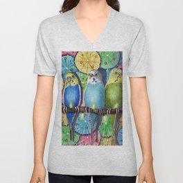 Parakeet Theater Unisex V-Neck