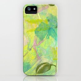 Leafy Breeze iPhone Case