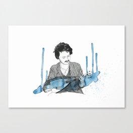 Beirut Portrait Canvas Print