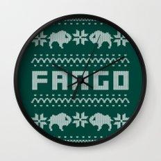 Fargo Sweater Wall Clock