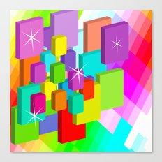 Blocked View Canvas Print